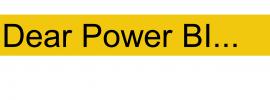 dear power BI blog category title image
